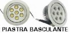 Faretto LED Basculante 7x1 Watt - Illuminotecnica-Led