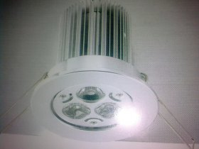 Faretto incasso 3 Led (2 w l'uno) da 6 Watt , Driver Incluso - Illuminotecnica-Led
