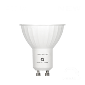 Gu10  8watt DIMMERABILE 220V 6W 120º - Illuminotecnica-Led