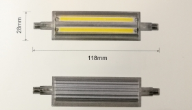 LINEAL 13W R7S 118mm 220V 160° LED (NUOVO ARRIVO) - Illuminotecnica-Led